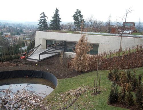 Dům sbazénem vRoudnici nad Labem