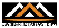 První Podřipská stavební a.s. Logo